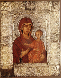 Virgin Mary Eleovrytisa - Holy Great Monastery of Vatopedi
